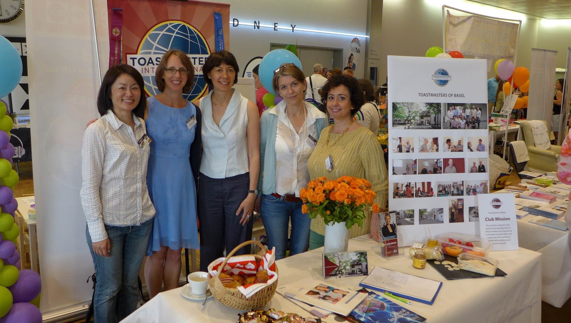 Toastmasters of Basel at the Expat Expo 2015
