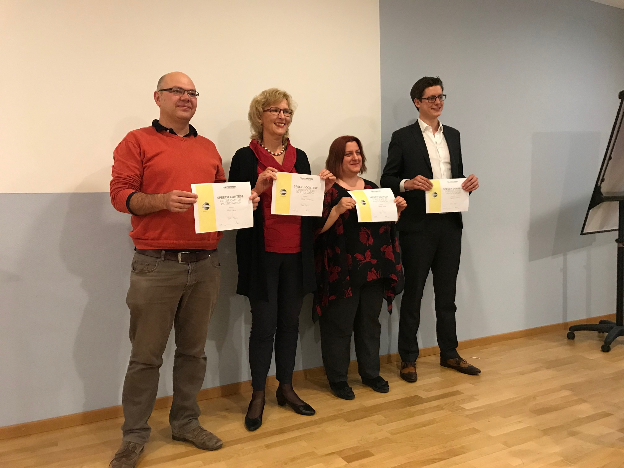 Winners at division contest in Bern 2017