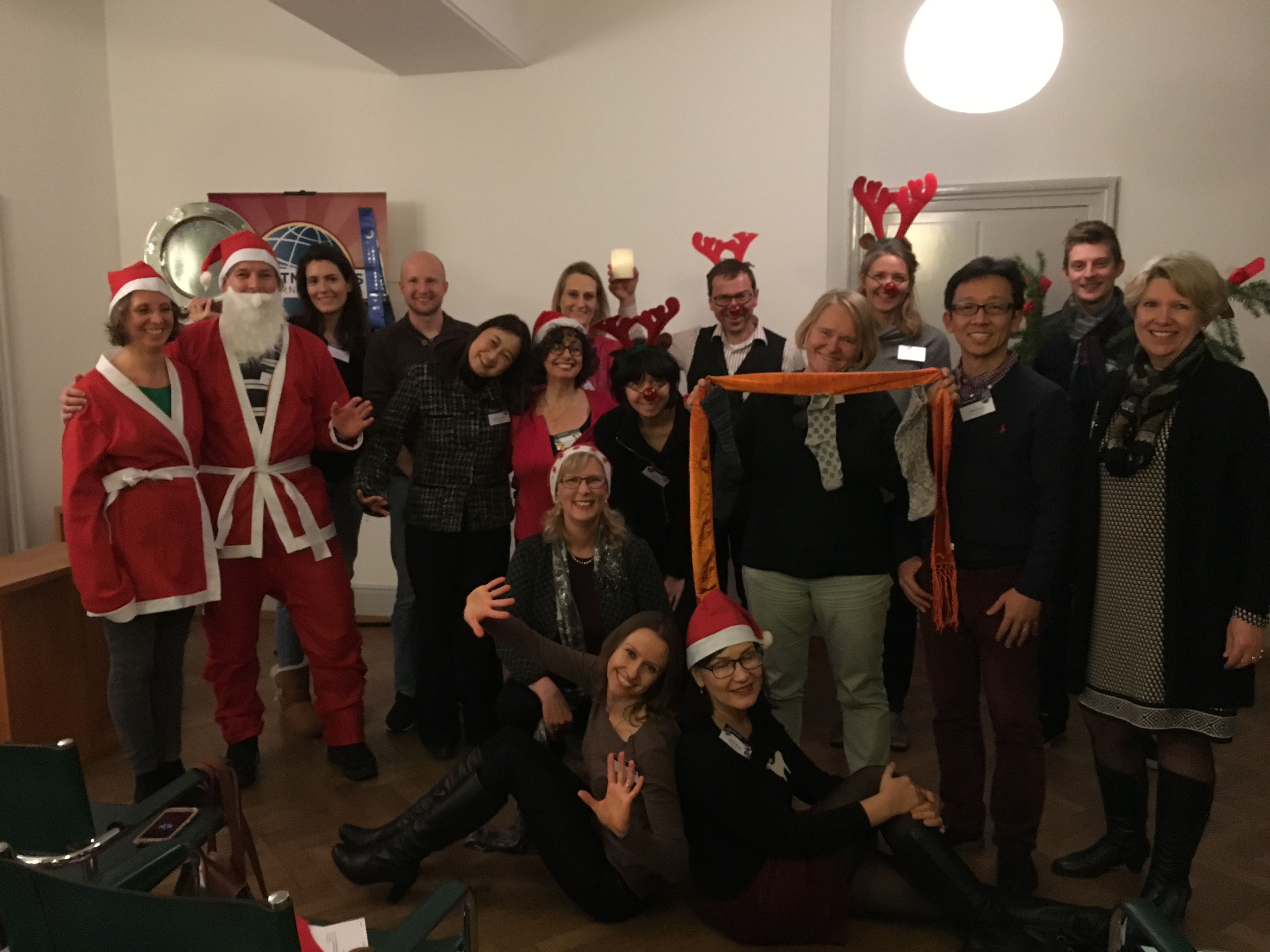 Toastmasters of Basel Christmas 2017